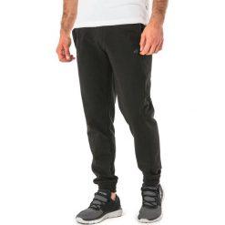 Spodnie dresowe męskie: 4f Spodnie sportowe dresowe męskie H4Z17-SPMD001 czarne r. XL