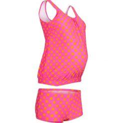 Tankini ciążowe (2 części) bonprix różowo-koralowy. Czerwone bielizna ciążowa marki DOMYOS, z elastanu. Za 124,99 zł.