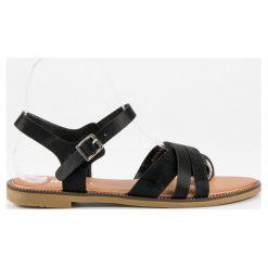 Klasyczne czarne sandały Nio Nio czarne. Czarne rzymianki damskie Nio Nio. Za 69,00 zł.