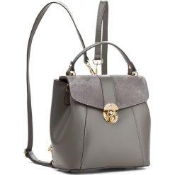 Plecak CREOLE - K10419  C. Szary. Szare plecaki damskie Creole, ze skóry, eleganckie. W wyprzedaży za 219,00 zł.