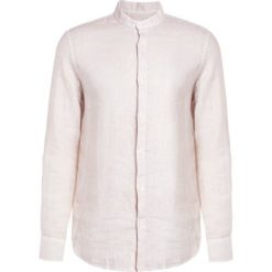 Koszule męskie na spinki: 120% Lino CAMICIA UOMO  Koszula beige