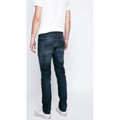 Hilfiger Denim - Jeansy. Niebieskie jeansy męskie slim marki House, z jeansu. W wyprzedaży za 299,90 zł.
