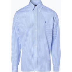 Polo Ralph Lauren - Koszula męska łatwa w prasowaniu, niebieski. Niebieskie koszule męskie na spinki Polo Ralph Lauren, m, z bawełny, polo. Za 299,95 zł.