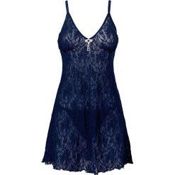 Koszule nocne i halki: Koszulka nocna + stringi (2 części) bonprix niebieski