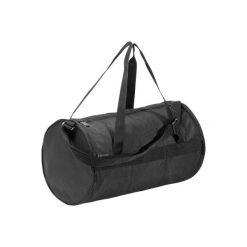 Torba fitness kardio 20l. Czarne torby podróżne marki DOMYOS, z materiału. Za 39,99 zł.