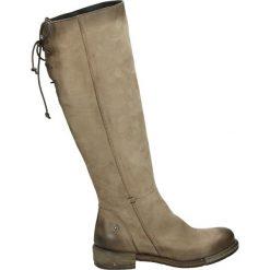 Buty zimowe damskie: Kozaki - RE01F NAB TAU