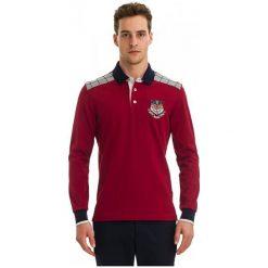 Galvanni Koszulka Polo Męska Angola M, Czerwony. Czerwone koszulki polo marki GALVANNI, m, z bawełny. W wyprzedaży za 279,00 zł.