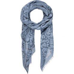 Chusty damskie: Chusta w kolorze niebieskim – 200 x 130 cm