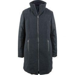 Płaszcz z różnych materiałów bonprix antracytowy melanż + czarny. Szare płaszcze damskie bonprix, melanż, z materiału. Za 239,99 zł.