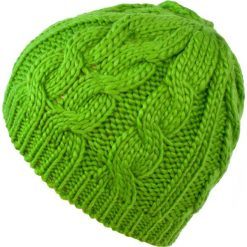 Czapka damska Minimal me limonkowa (cz14295). Zielone czapki zimowe damskie Art of Polo. Za 27,05 zł.