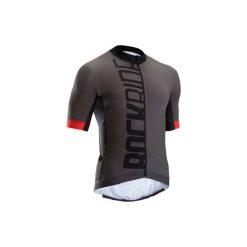 Koszulka na rower MTB XC Light męska. Czarne odzież rowerowa męska marki B'TWIN, na jesień, m, z elastanu. W wyprzedaży za 149,99 zł.