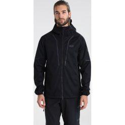 Jack Wolfskin GREEN VALLEY JACKET MEN Kurtka Softshell black. Czarne kurtki sportowe męskie marki Jack Wolfskin, l, z poliesteru, z kapturem. W wyprzedaży za 468,30 zł.