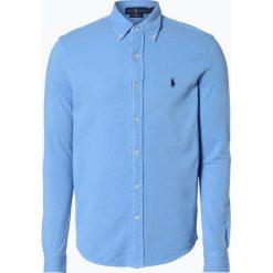 Polo Ralph Lauren - Koszula męska, niebieski. Niebieskie koszule męskie na spinki Polo Ralph Lauren, m, z bawełny, polo. Za 299,95 zł.