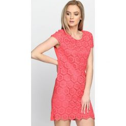 Sukienki: Koralowa Sukienka Dark Paradise