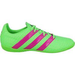Buty dziecięce: Adidas Buty dziecięce Ace 16.4 IN J Zielone r.36 2/3 - (AF5044)