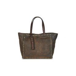 Torby shopper Loxwood  CABAS PARISIEN MM VINTAGE   CLOUS. Brązowe shopper bag damskie Loxwood. Za 524,30 zł.
