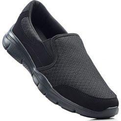 Buty sportowe męskie: Buty wsuwane bonprix czarny