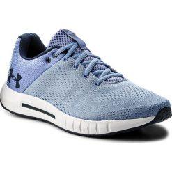 Buty UNDER ARMOUR - Ua Micro G Pursuit 3000101-400 Blu. Niebieskie buty do biegania damskie marki Under Armour, z materiału. W wyprzedaży za 189,00 zł.