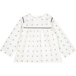 Bluzki dziewczęce bawełniane: Bluzka z nadrukiem, 1 mies. - 3 lata