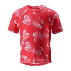 Bielizna dziewczęca: Reima Koszulka Do Pływania Azores Uv 50+ 74 Czerwony