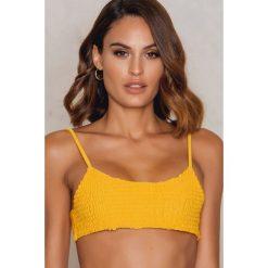 Hot Anatomy Góra bikini Wrinkled - Yellow. Żółte stroje dwuczęściowe damskie marki NABAIJI. Za 96,95 zł.
