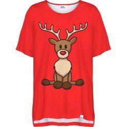 Colour Pleasure Koszulka damska CP-033 295 czerwona r. uniwersalny. T-shirty damskie Colour pleasure, uniwersalny. Za 76,57 zł.