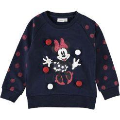 """Bluzy niemowlęce: Bluza """"Minnie"""" w kolorze granatowym"""
