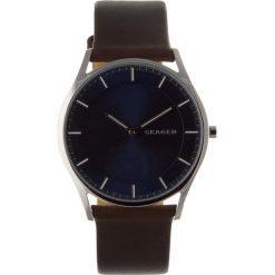 Biżuteria i zegarki: Zegarek SKAGEN - Holst SKW6237 Dark Brown/Silver/Steel