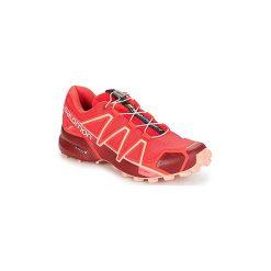 Buty do biegania Salomon  SPEEDCROSS 4 W. Szare buty do biegania damskie marki Salomon, z gore-texu, na sznurówki, gore-tex. Za 512,10 zł.