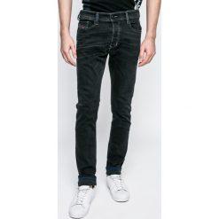 Diesel - Jeansy Tepphar. Szare jeansy męskie slim marki Diesel, z bawełny. W wyprzedaży za 399,90 zł.