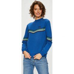Lee - Bluza. Szare bluzy rozpinane damskie Lee, l, z nadrukiem, z bawełny, bez kaptura. Za 259,90 zł.