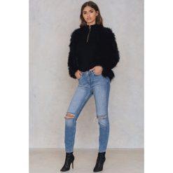 Twist & Tango Dżinsy Sarah - Blue. Zielone jeansy damskie marki Emilie Briting x NA-KD, l. W wyprzedaży za 121,49 zł.