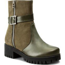 Botki OLEKSY - 238 892/884. Szare buty zimowe damskie marki Oleksy, ze skóry. W wyprzedaży za 269,00 zł.