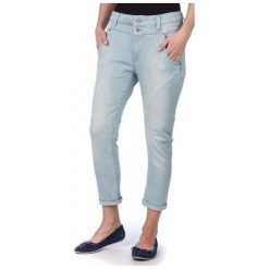 Pepe Jeans Jeansy Damskie New Topsy 26 Niebieski. Niebieskie jeansy damskie marki Pepe Jeans. W wyprzedaży za 230,00 zł.