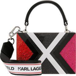 KARL LAGERFELD KARL X MINAUDIERE Kopertówka multi. Czarne puzderka KARL LAGERFELD. Za 739,00 zł.