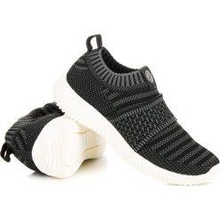 Wsuwane tekstylne trampki KYLIE czarne. Białe trampki damskie slip on marki KYLIE. Za 109,00 zł.