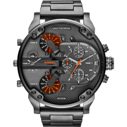 Zegarek DIESEL - Mr Daddy 2.0 DZ7315  Gunmetal/Gunmetal. Szare zegarki męskie Diesel. Za 1609,00 zł.