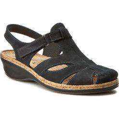 Rzymianki damskie: Sandały COMFORTABEL – 720086 Blau 5