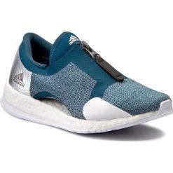 Buty adidas - PureBoost X Tr Zip S81033 Petnit/Silvmt/Ftwwht. Czarne buty do fitnessu damskie marki Adidas, z kauczuku. W wyprzedaży za 349,00 zł.