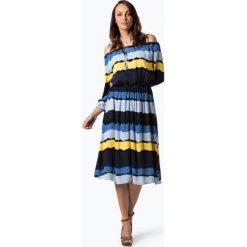 Tommy Hilfiger - Sukienka damska – Rachel, niebieski. Niebieskie sukienki z falbanami marki Reserved, z odkrytymi ramionami. Za 649,95 zł.