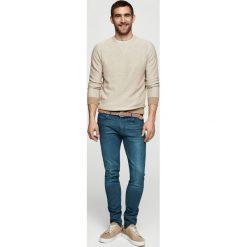Mango Man - Jeansy Jude2. Niebieskie jeansy męskie skinny Mango Man, z bawełny. W wyprzedaży za 99,90 zł.