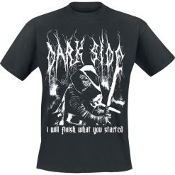 T-shirty męskie: Star Wars Episode 7 - Das Erwachen der Macht - Kylo Ren - Dark Side - Metal T-Shirt czarny