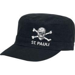 Czapki męskie: FC St. Pauli Army Totenkopf Czapka wojskowa czarny