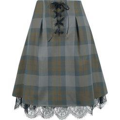 Outlander Tartan Spódnica wielokolorowy. Szare spódniczki Outlander, s, w koronkowe wzory, z koronki. Za 199,90 zł.