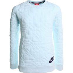 Nike Performance Bluza glacier blue/obsidian. Niebieskie bluzy dziewczęce Nike Performance, z bawełny. W wyprzedaży za 164,25 zł.