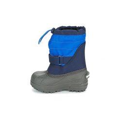 Śniegowce Dziecko Columbia  CHILDRENS POWDERBUG PLUS II. Niebieskie buty zimowe chłopięce Columbia. Za 183,99 zł.