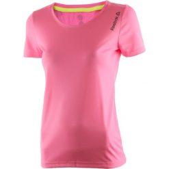 Koszulka do biegania damska REEBOK RUNNING ESSENTIALS SHORT SLEEVE TEE / AX9499. Szare bluzki damskie marki Reebok, l, z dzianiny, casualowe, z okrągłym kołnierzem. Za 55,00 zł.