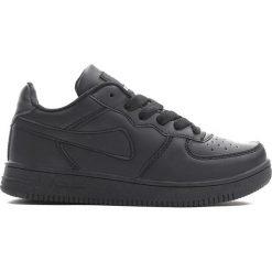 Czarne Buty Sportowe Marcherry. Czarne buty sportowe chłopięce marki Born2be, z materiału, z okrągłym noskiem, na sznurówki. Za 59,99 zł.