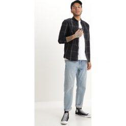 Koszule męskie na spinki: Burton Menswear London SMART CHECK Koszula black