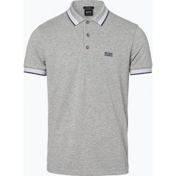 BOSS Athleisurewear - Męska koszulka polo – Paddy, szary. Szare koszulki polo BOSS Athleisurewear, l, w paski. Za 349,95 zł.